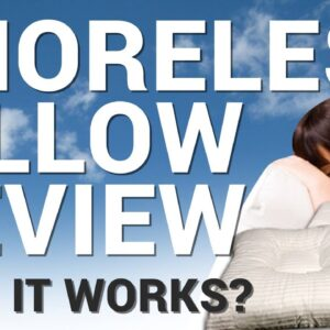 Snoreless Pillow Review 2020: Can This Anti-Snoring Pillow Really Stop You From Snoring Naturally?