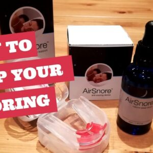 Airsnore Drops | Best Way To Cure Snoring