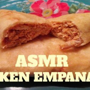 ASMR Chicken Empanadas in Red Chile Recipe with  Momma Nugs