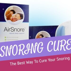 Does Airsnore Work | The Greatest Snoring Cure