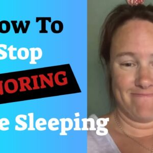 How To Stop Snoring While Sleeping - How To Stop Someone From Snoring - Anti-Snoring Device Review