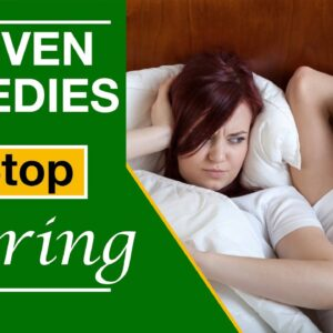 3 Proven Anti Snoring Home Remedies To Stop Snoring Naturally While Sleeping
