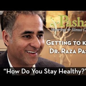 """Getting to Know Dr. Pasha: """"How Do You Stay Healthy?"""""""