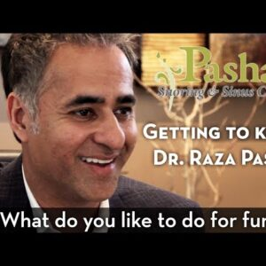 """Getting to Know Dr. Pasha: """"What Do You Like to do For Fun?"""""""