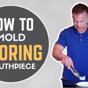 How To Mold Snoring Mouthpiece | VItalSleep Fitting Instructions