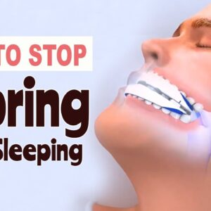 How To Stop Snoring While Sleeping | Solution To Snoring