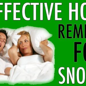 Best Natural Home Remedies For Snoring: STOP Snoring Starting Tonight (Updated 2020)