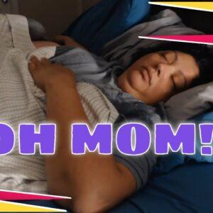 LOUD SNORING SLEEPING MOM ASMR SERIES