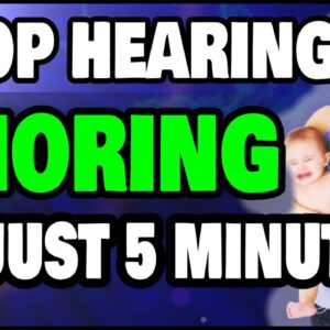 THE ONLY Fix For How Snoring Causes Insomnia In Partners! Stop Hearing It Now!