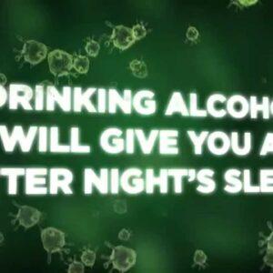 Myth or Fact: Does alcohol help me sleep?