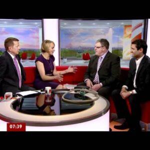 National Stop Snoring Week 2012 - BBC Breakfast