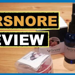 Airsnore Review | AirSnore Anti-Snoring Mouthpiece - Does Airsnore Really Work To Stop Snoring?