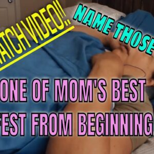 SNORING MOM SLEEPING ASMR SERIES PART 28 MAJOR SNORE FEST FROM BEGINNING TO END
