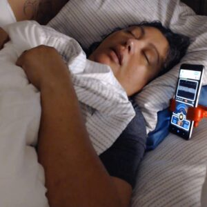 SNORING MOM AND DAD SLEEPING ASMR SERIES AFTER PARTY SNORING with Decibel X Sound Level Reader