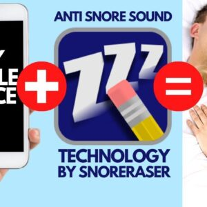 SnorEraser #1 Black Screen Anti Snore Device Technology For Your Phone