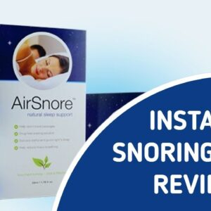 Snoring Aide | BEWARE: Watch This First
