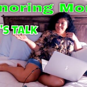 Snoring Mom  Hi Friends!! Hola !! let's chat!! English/Spanish