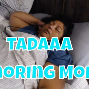 Snoring Mom Series (No Talking)