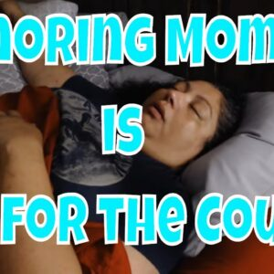 Snoring Mom Series with our FrI-yay late night talk