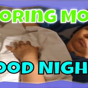 Snoring  Mom Sleeping ASMR Series