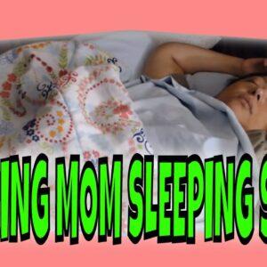 SNORING MOM SLEEPING ASMR SERIES PART 39