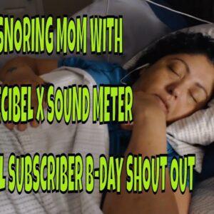 SNORING MOM SLEEPING ASMR SERIES PART 48 with DECIBEL X