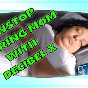 SNORING MOM SLEEPING ASMR SERIES  Q&A RAMBLE WITH DECIBEL X