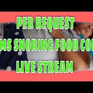 SNORING MOM SLEEPING ASMR SERIES SURPRISE LIVE STREAM