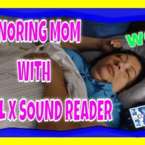 SNORING MOM SLEEPING ASMR SERIES WITH DECIBEL X