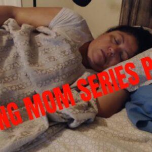 SNORING MOM SLEEPING SERIES ASMR PART 11 LIGHTS ON
