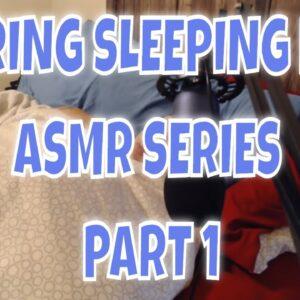 SNORING Mom Sleeping series part 1 lights on ASMR