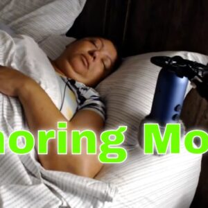 Snoring Mom Sleeping Series