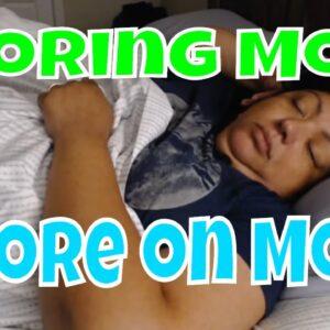 Snoring Mom Sleeping Series (talking English and Spanish)