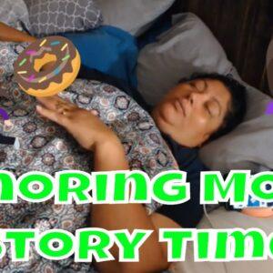 Snoring Mom Sleeping Series with Decibel X