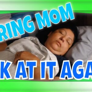 Snoring Sleeping Mom