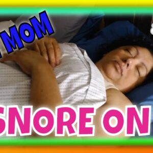 SNORING SLEEPING MOM ASMR SERIES