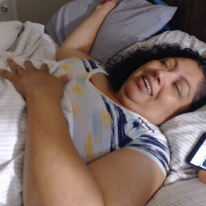 SNORING SLEEPING MOM ASMR SERIES WITH DECIBEL X PLUS (TALKING)