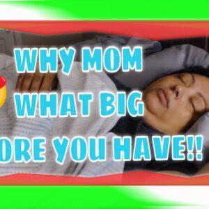 SNORING SLEEPING MOM ASMR SERIES WITH TALKING