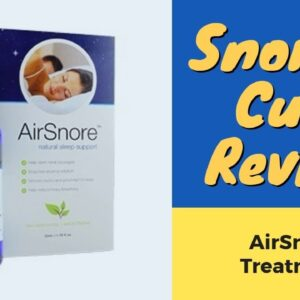 Snoring Treatment Review | BEWARE: Watch This First