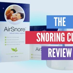 The Best Quiet AntiSnore Strap | The Greatest Snoring Cure