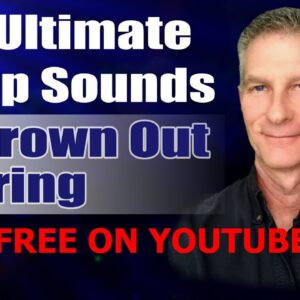 The Ultimate Sleep Sounds To Drown Out Snoring now FREE ON YOUTUBE?!!