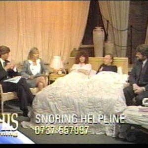 This Morning - Richard & Judy - (Snoring) - 1991