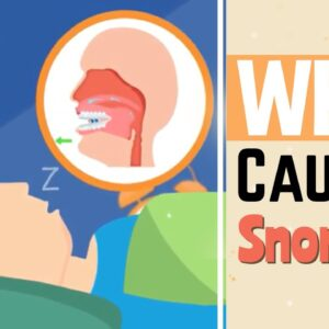 What Causes Snoring? - Why Do I Snore? - VitalSleep Snore Stopper