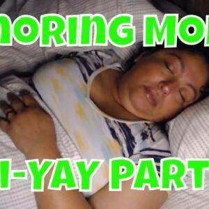 Snoring Mom  Sleeping Series Fri-YAY pt2