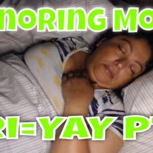 Snoring Mom Sleeping Series Fri=YAY Part3
