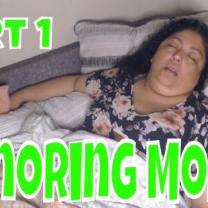 Snoring Mom Sleeping Series Part 1