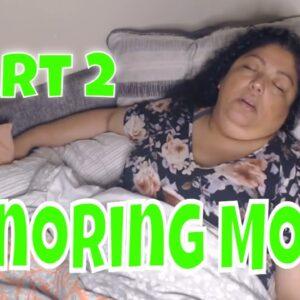 Snoring Mom Sleeping Series part 2