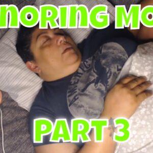 Snoring Mom Sleeping Series Part 3 with Decibel X