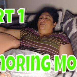 Snoring Mom Sleeping Series Part1