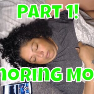 Snoring Mom Sleeping Series pt1